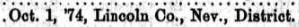 MJ Grose naturalised 1874